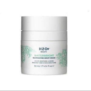 Other - H2O+ Beauty Waterbright Illuminating Night Cream